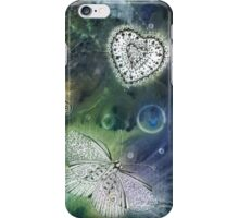 Solar Print and Tangled Butterflies  iPhone Case/Skin