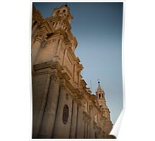 Catedral de Arequipa Poster