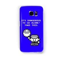 Take This! Blue Version Samsung Galaxy Case/Skin