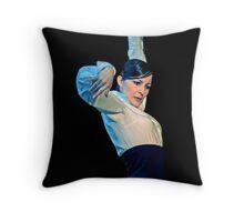 flamenco danger  Throw Pillow