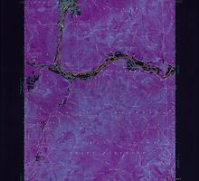 Maine USGS Historical Map Gorham 306584 1937 62500 Inversion by wetdryvac