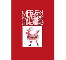 Santa Claus Christmas Photographic Print