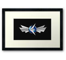 Exo Fleet Framed Print