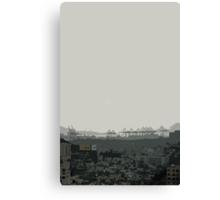 Busan view Canvas Print