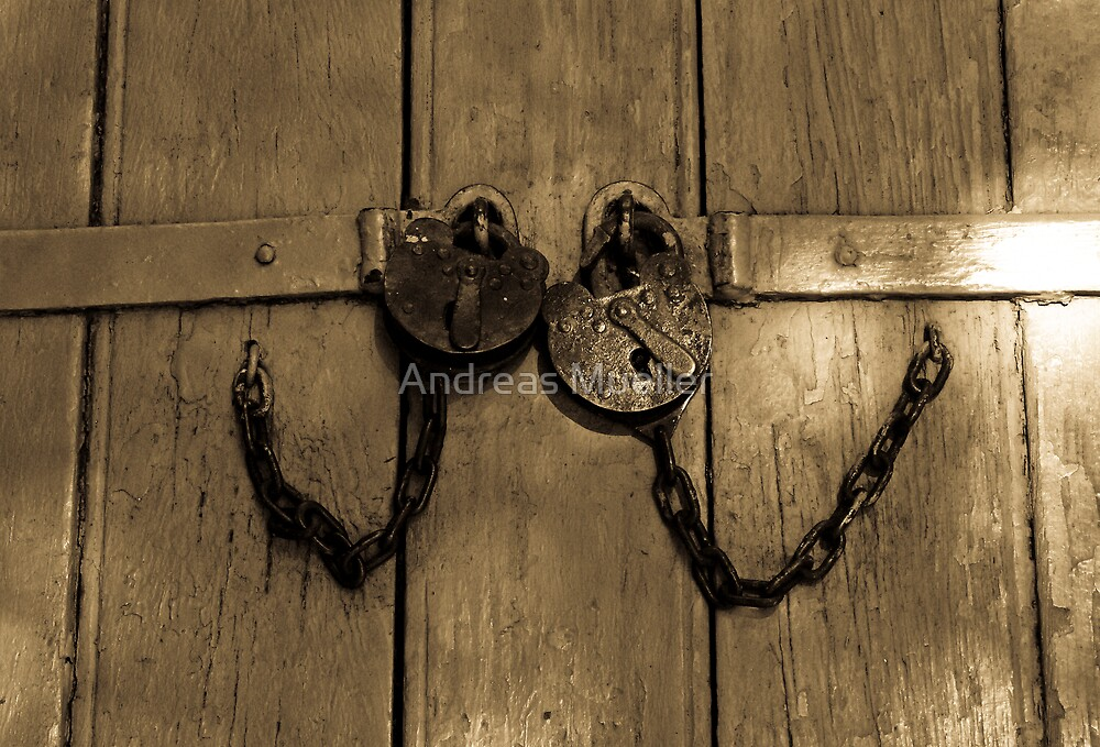 Locked And Chained Together by Andreas Mueller