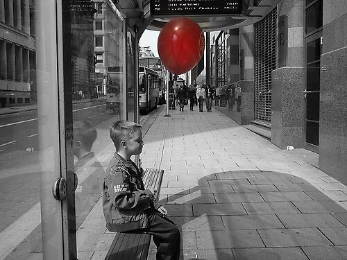 Red Balloon by Talia Knight