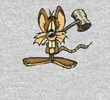Mouse with hammer Unisex T-Shirt