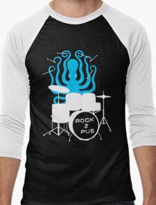 Octopus Rock! Men's Baseball ¾ T-Shirt