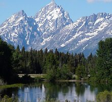 Grand Teton National Park Mountains by NatureLover0212