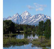 Grand Teton National Park Mountains Photographic Print