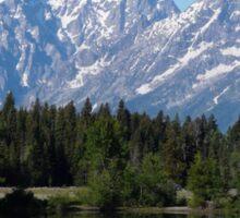Grand Teton National Park Mountains Sticker