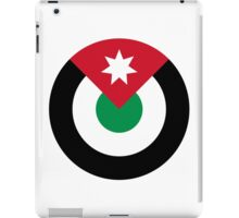 Roundel of the Royal Jordanian Air Force iPad Case/Skin