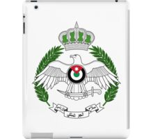 Royal Jordanian Air Force Emblem iPad Case/Skin