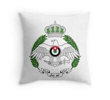Royal Jordanian Air Force Emblem Throw Pillow