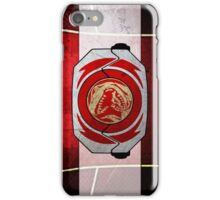 RedRanger iPhone Case/Skin