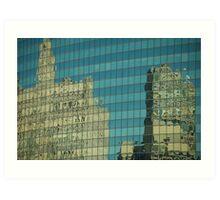 Wrigley Reflections Art Print