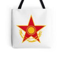 Roundel of Kazakhstan Air Force  Tote Bag