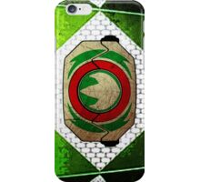 GreenRanger 2 iPhone Case/Skin