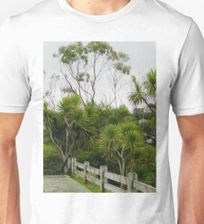 Cabbage Trees  Botanic Gardens Wellington  New Zealand Unisex T-Shirt