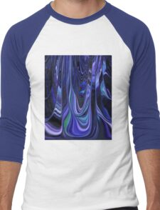 Lovely Shades of Blue Abstract Art Design T-Shirt