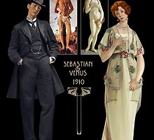 Botticelli's Venus and Sebastian 1910 by Ivy Izzard