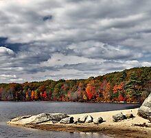 Autumn at Bowdish Lake by Judith Winde