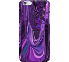 Ribbon Design Style in Purple and Violet Art  iPhone Case/Skin