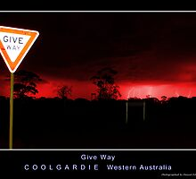 Give Way - Red Edition by Daniel Fitzgerald