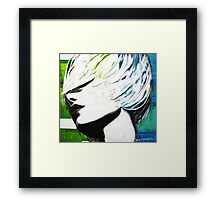 In a Whirlwind Framed Print