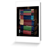 HP Books Greeting Card
