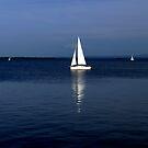 Plain Sailing Lough Neagh by ragman