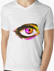Look me in my eye Mens V-Neck T-Shirt