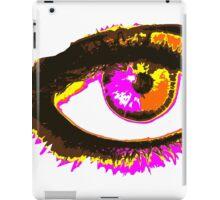 Look me in my eye iPad Case/Skin