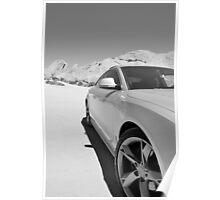 A razor in the Desert Poster