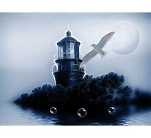 Nights At The Lighthouse Photographic Print