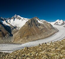 Aletsch glacier by peterwey