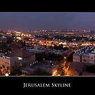 Jerusalem Skyline by Abba Richman