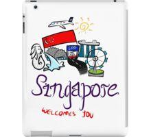 Beautiful Singapore iPad Case/Skin
