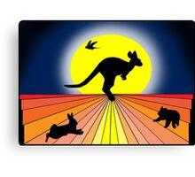 Quintessential Oz  Canvas Print