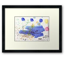 Two Kayaks on the Bay Framed Print