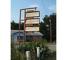 The Blue Top Motel  Photographic Print