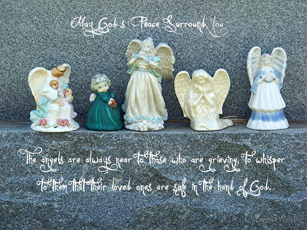 Angels Among Us by Glenna Walker