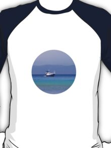 seascape with yacht T-Shirt