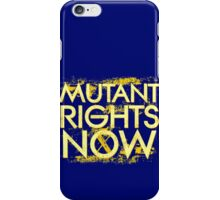 Mutant Rights Now iPhone Case/Skin