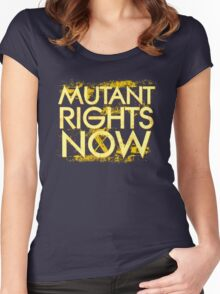 Mutant Rights Now Women's Fitted Scoop T-Shirt