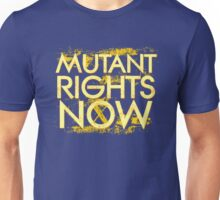 Mutant Rights Now Unisex T-Shirt