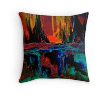 There's a Light in the Darkness Throw Pillow