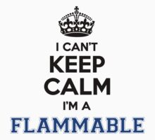 I cant keep calm Im a FLAMMABLE by icanting