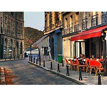 Café Photographic Print