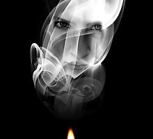 Lady in the smoke by Daniel Bullock